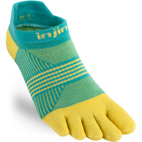 Injinji Run LW No Show Coolmax Xtra Socks Dame Tropic